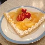 17887082 - クレープ❤                       果物が本当に美味しかったです。イチゴが甘くて美味しかった。
