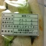 角田屋製パン - 裏