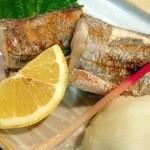 春駒 - 太刀魚の塩焼き