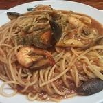 ウィンクル - 料理写真:森と海のスパゲティ1,600円