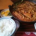 17888942 - 味噌煮込み定食860円 大盛+200円