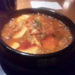 からくに家 - 海鮮純豆腐チゲ.jpg