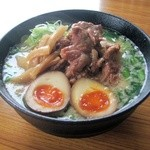 ら~麺処 豪屋 - 一番人気のトロ肉みそら~めん(850円)