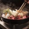 牛庵 - 料理写真:神戸牛すき焼き(牛肉前菜・ご飯かうどんがついてます)