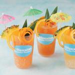 Hawaiian Pancake Factory - トロピカルティー・フルーツジュース