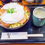 鳥めし 鳥藤分店 - 2013年03月の限定メニューは、「鶏チャーシュー玉子飯」(鶏スープ付き)