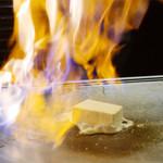 17893706 - アイスクリームの鉄板焼き