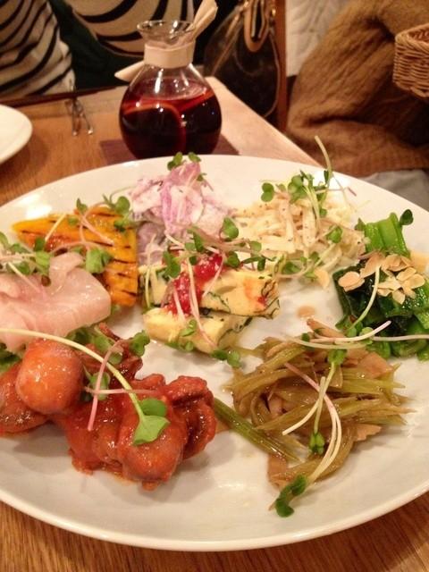 G831 Natural Kitchen & Cafe - 前菜盛り