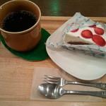 どんぐりの木 コメルサンツ - レアチーズケーキ&コーヒー