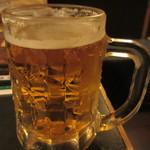 和食居酒屋 酒彩 暖味 - 生ビールは大ジョッキくらいあった