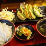 一番五郎 - ランチの仙台あおば餃子定食