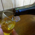 福田フライ - 瓶ビール大600円