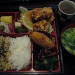 ごはんや デンスケ - 本日のお弁当(鶏の唐揚げ)