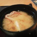 饗庭 - おいしいカニ汁
