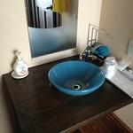 ひなた - 部屋の洗面所(陶器です。)