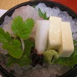 京懐石 美濃吉 - 鯛と湯葉のお造り