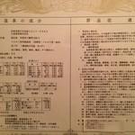 17901070 - 温泉成分表(アルカリ性単純泉)