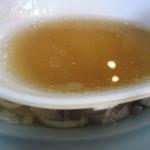 ラーメン ふじ - スープ