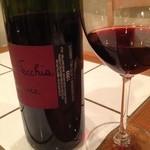 バールアリメンターリ ダニエラ - 川崎さん秘蔵のワインを飲んじゃった、ボトルには「トオル」と個人所有のサインが!(笑)