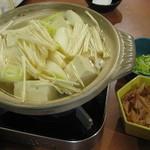 うなぎ登喜川 - 湯豆腐