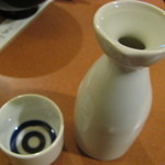 うなぎ登喜川 - 燗酒2合