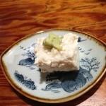 はつ花そば - 料理写真:豆腐の塩麹漬け
