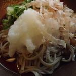 蕎麦 ふる里 - 「おろし蕎麦」アップ
