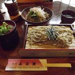 蕎麦 ふる里 - 「おろし蕎麦」600円「笊そば」700円