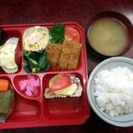 憩食堂 - 料理写真:日替わり弁当 憩食堂 室蘭