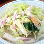 せんぼんぐらばー館 - チャンポン麺(680円)