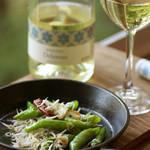 森メシ - ワインと一緒に単品料理も