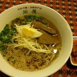 別府冷麺・温麺専門店 尚屋 - あったか和風だしで召し上がる温麺を食べられるのは当店だけ。