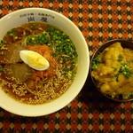 別府冷麺・温麺専門店 尚屋 - 人気のミニとり天セット!ボリューム満点!