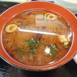 元禄鮨 - 赤出汁