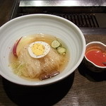 銀河離宮 - 離宮の盛岡冷麺700円
