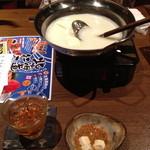 17909965 - お通しの湯豆腐