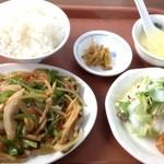 17911521 - 青椒肉絲定食(700円)