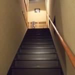 そば工房むもん - 階段