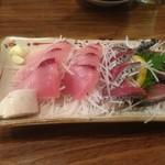 魚田 - 料理写真:清水サバとハガツオ