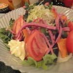 とんかつおおみや - 2013/3/9 サラダ