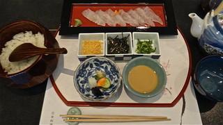 かの川 - 鯛茶漬け 1,500円