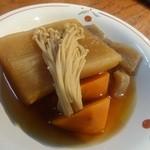 17916216 - 「季節野菜盛合せ煮込み」(500円)