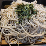 武蔵野天ぷら道場 - セットのミニ蕎麦