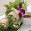 海老を包んだベトナム風生春巻き