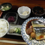 みなと - 料理写真:鯖煮付定食 750円