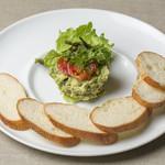山葵風味のアボカドディップ・サラダ