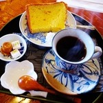 cafe蔵人 - 味噌シフォンケーキとコーヒー