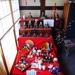 cafe蔵人 - 紅花染めを使った古今雛