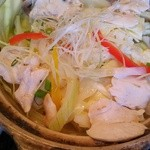 17922823 - 鶏ささみ蒸し鍋