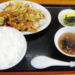 万龍 - 肉みそ定食